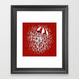 The Red Menace Framed Art Print