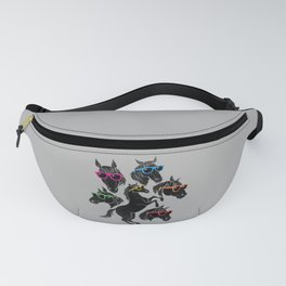Horse Outlines Fanny Pack