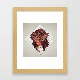 Medusoid mycelium Framed Art Print