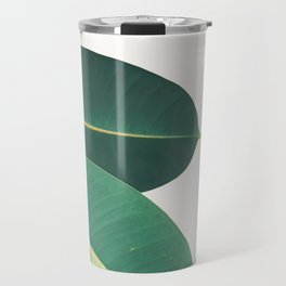 Rubber Fig Leaves II Travel Mug