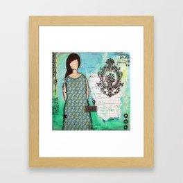 Cherish Framed Art Print