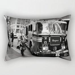 Mid Town Mob - New York Rectangular Pillow