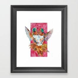 The Ultimate Pollinator Framed Art Print