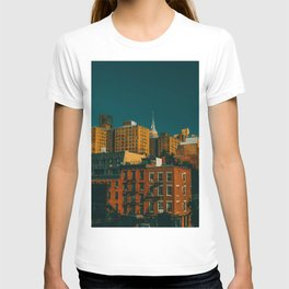 New York City Apartments (Color) T-shirt