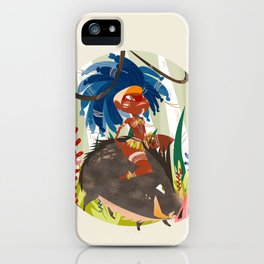 Caipora DIVA iPhone Case
