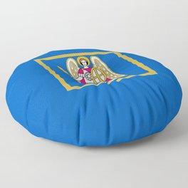 Flag of Kiev Floor Pillow