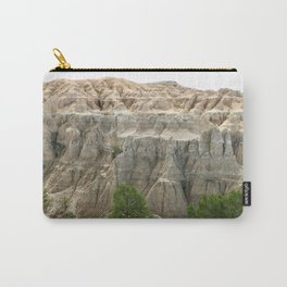 Badlands View From The Rim Road Carry-All Pouch