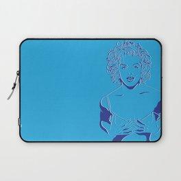 Lady in Blue Laptop Sleeve