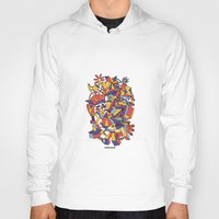 architecture Hoodies featuring - dreamed architecture - by Magdalla Del Fresto