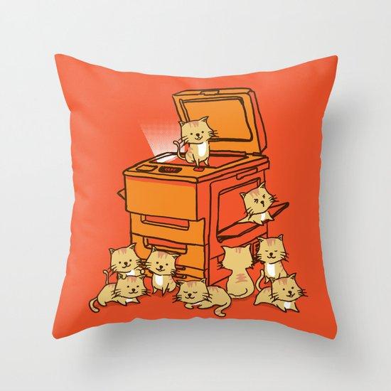 The Original Copycat Throw Pillow