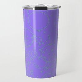 Purple Bubbles Travel Mug