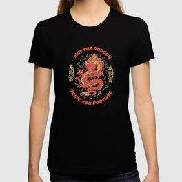 Japanese Dragon Art Fortune Luck Fun T-shirt