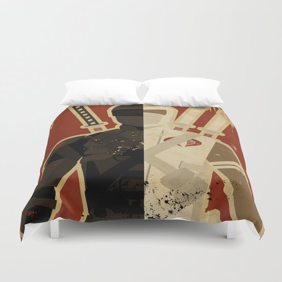 Blood Brothers Duvet Cover