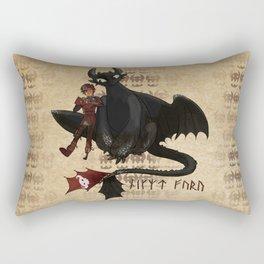 Night Fury Special Rectangular Pillow