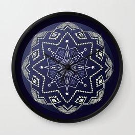 Wedgewood Sphere Mandala Wall Clock