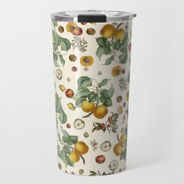 Apples Pears Peaches Travel Mug