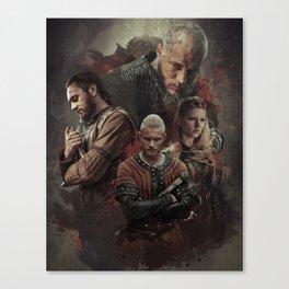 Warriors Heart Canvas Print