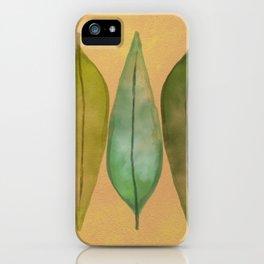 Laurel iPhone Case