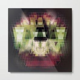 Cherub Under the Microscope: 2 Metal Print