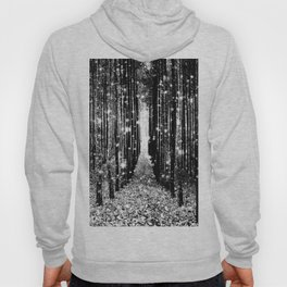 Magical Forest Black White Gray Hoody