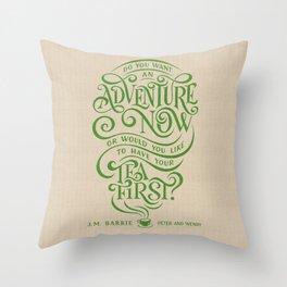 Tea First Throw Pillow