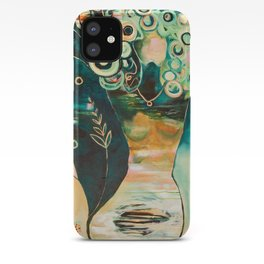 """""""Thirty Six"""" Original Painting by Flora Bowley iPhone Case"""