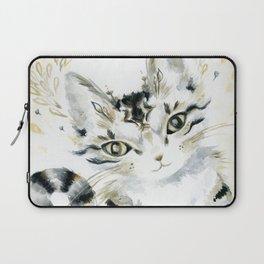 Curiosity Cat Laptop Sleeve