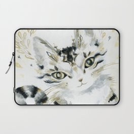 Curiosity Cat Laptop Sleeve