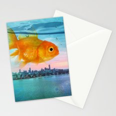 Tank with a view Stationery Cards