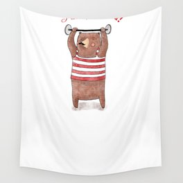 I am strong Wall Tapestry