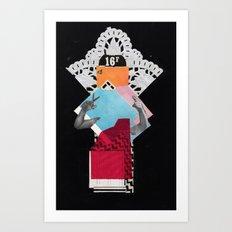 Queen 2 Art Print