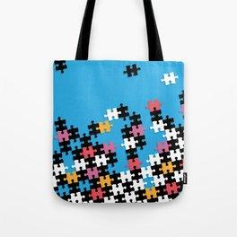 Puzzle Pieces Tote Bag
