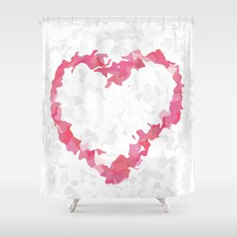 Light Hearted Shower Curtain