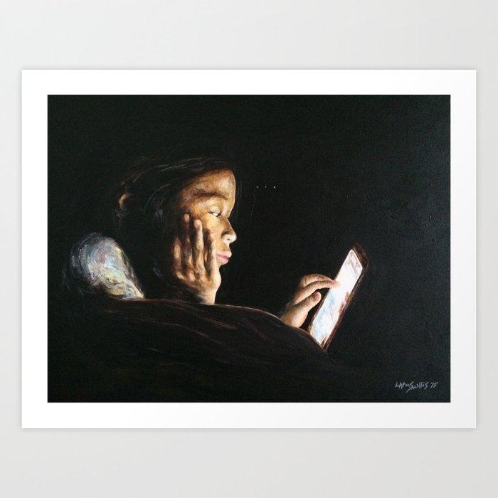 Portrait of Tara Art Print