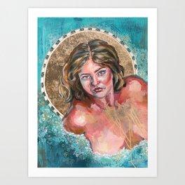 Gilded Ladies: LJ Art Print