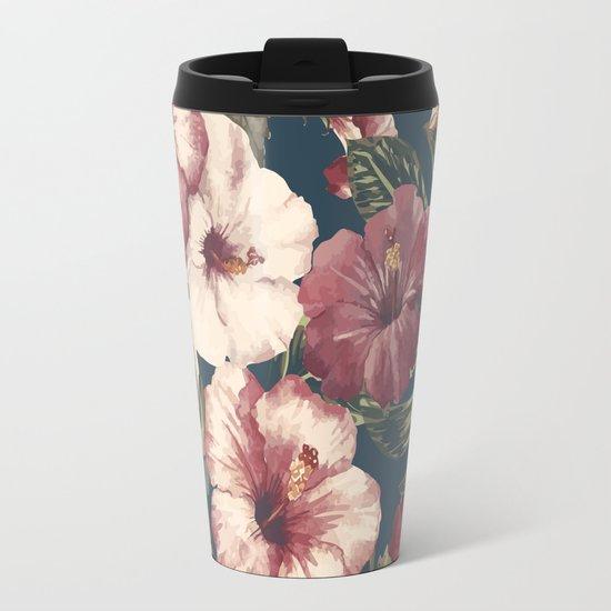 Flower pattern A Travel Mug