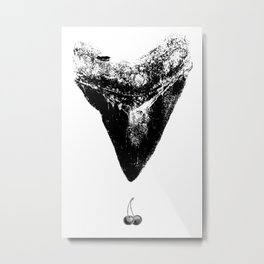 Cherry Pop Metal Print