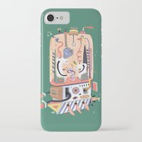 submarine iPhone & iPod Cases featuring submarine laboratory by Jakub Bachorík