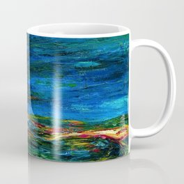 1912 Classical Masterpiece Stormy Sea Herbstmeer XIX by Emil Nolde Coffee Mug