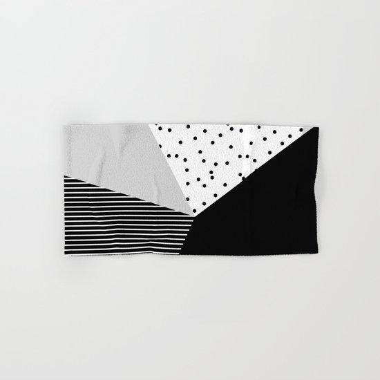 Geometry Blocks 10 Hand & Bath Towel