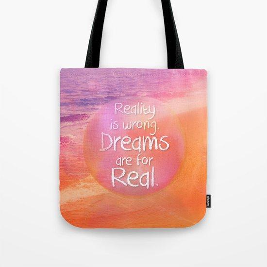 Beach Waves IV - Dreams and Reality Tote Bag