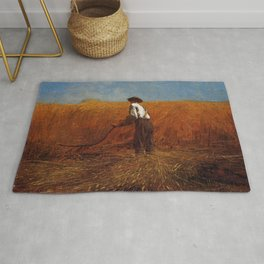 The Veteran In A New Field 1865 By WinslowHomer | Reproduction Rug