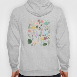 Springtime In The Bunny Garden Of Floral Delights Hoody