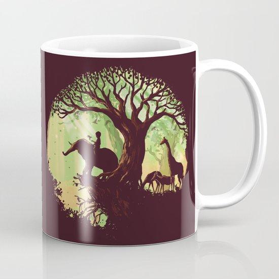 The jungle says hello Mug