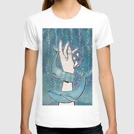 Poseidon's Whales T-shirt