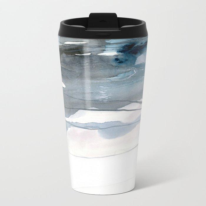 dissolving blues 2 Metal Travel Mug