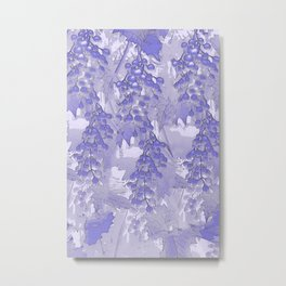Blue grapes - abstract Metal Print
