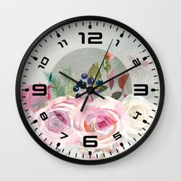 Flowers bouquet #42 Wall Clock