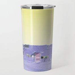 Moroccan Dar in Purple Travel Mug
