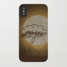 Moon Tree iPhone X Slim Case